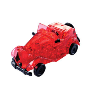 Crystal Puzzle Red Classic Car 3D, 3D παζλ, 3D puzzle, 3D pazl, παζλ, pazl, puzzle, 3D puzzle, 3D παζλ, παζλ, puzzles, τανκ 3D, Mathimatiki Vivliothiki, παιδικά παιχνίδια, παιχνίδια, παιχνιδια, παιχνίδια για κορίτσια, παιχνίδια για αγόρια, επιτραπέζια, παιχνίδια με παζλ, δώρα, δώρο, crystal puzzle 90331