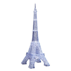 Crystal Puzzle Eiffel Tower U-Clear 3D, 3D παζλ, 3D puzzle, 3D pazl, παζλ, pazl, puzzle, 3D puzzle, 3D παζλ, παζλ, puzzles, τανκ 3D, Mathimatiki Vivliothiki, παιδικά παιχνίδια, παιχνίδια, παιχνιδια, παιχνίδια για κορίτσια, παιχνίδια για αγόρια, επιτραπέζια, παιχνίδια με παζλ, δώρα, δώρο, crystal puzzle 91007