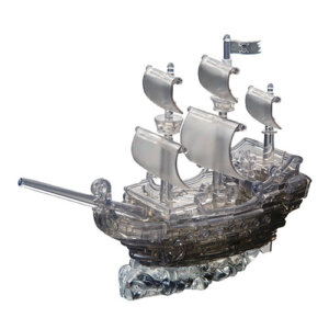 Crystal Puzzle Pirate Ship Black 3D, 3D παζλ, 3D puzzle, 3D pazl, παζλ, pazl, puzzle, 3D puzzle, 3D παζλ, παζλ, puzzles, τανκ 3D, Mathimatiki Vivliothiki, παιδικά παιχνίδια, παιχνίδια, παιχνιδια, παιχνίδια για κορίτσια, παιχνίδια για αγόρια, επιτραπέζια, παιχνίδια με παζλ, δώρα, δώρο, crystal puzzle 91106