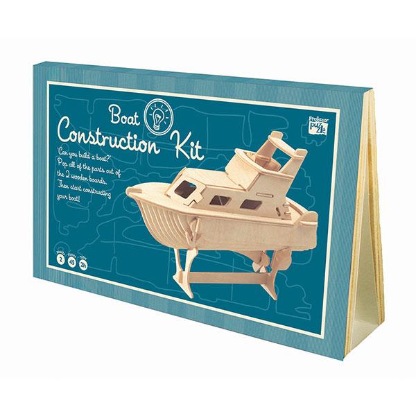 Professor Puzzle Ξύλινη κατασκευή Boat Construction Kit