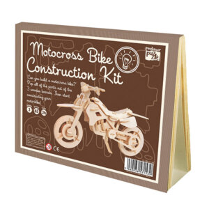Professor Puzzle Ξύλινη κατασκευή Motocross Bike Construction Kit, 3d puzzle, 3d παζλ, παζλ, Μαθηματική Βιβλιοθήκη, mathimatiki vivliothiki, κατασκευές, παιδικές κατασκευές, παιδικες κατασκευες, κατασκευες για παιδια, χειροτεχνιες, παιχνιδια για αγορια, παιχνιδια για παιδια, παιδικα παιχνιδια, ξύλινα παιχνίδια, παιχνίδια, παιχνιδια, παιχνιδια για κοριτσια, σπαζοκεφαλιές, δωρα, δώρα, δώρο, δωρο, επιτραπεζια, εποχιακα, CK-10