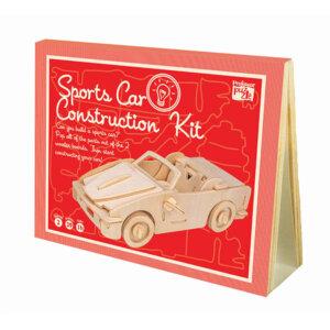 Professor Puzzle Ξύλινη κατασκευή Sports Car Construction Kit, 3d puzzle, 3d παζλ, παζλ, Μαθηματική Βιβλιοθήκη, mathimatiki vivliothiki, κατασκευές, παιδικές κατασκευές, παιδικες κατασκευες, κατασκευες για παιδια, χειροτεχνιες, παιχνιδια για αγορια, παιχνιδια για παιδια, παιδικα παιχνιδια, ξύλινα παιχνίδια, παιχνίδια, παιχνιδια, παιχνιδια για κοριτσια, σπαζοκεφαλιές, δωρα, δώρα, δώρο, δωρο, επιτραπεζια, εποχιακα, CK-12