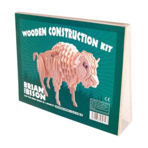 Professor Puzzle Ξύλινη κατασκευή Brian the Bison Construction Kit, 3d puzzle, 3d παζλ, παζλ, Μαθηματική Βιβλιοθήκη, mathimatiki vivliothiki, κατασκευές, παιδικές κατασκευές, παιδικες κατασκευες, κατασκευες για παιδια, χειροτεχνιες, παιχνιδια για αγορια, παιχνιδια για παιδια, παιδικα παιχνιδια, ξύλινα παιχνίδια, παιχνίδια, παιχνιδια, παιχνιδια για κοριτσια, σπαζοκεφαλιές, δωρα, δώρα, δώρο, δωρο, επιτραπεζια, εποχιακα, A-5