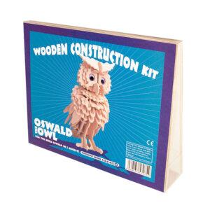 Professor Puzzle Ξύλινη κατασκευή Oswald the Owl Construction Kit, 3d puzzle, 3d παζλ, παζλ, Μαθηματική Βιβλιοθήκη, mathimatiki vivliothiki, κατασκευές, παιδικές κατασκευές, παιδικες κατασκευες, κατασκευες για παιδια, χειροτεχνιες, παιχνιδια για αγορια, παιχνιδια για παιδια, παιδικα παιχνιδια, ξύλινα παιχνίδια, παιχνίδια, παιχνιδια, παιχνιδια για κοριτσια, σπαζοκεφαλιές, δωρα, δώρα, δώρο, δωρο, επιτραπεζια, εποχιακα, A-6