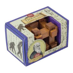 Professor Puzzle Darwin's Chest Mini Puzzle, Μαθηματική Βιβλιοθήκη, mathimatiki vivliothiki, γρίφος, γρίφοι, γρίφοι λογικής, κύβος του ρούμπικ, ρούμπικ, κύβος, το ξύλινο αλογάκι, παιχνίδια, παιχνιδια, παιχνιδια για κοριτσια, σπαζοκεφαλιές, δωρα, δώρα, δώρο, δωρο, επιτραπεζια, εποχιακα, MG-3
