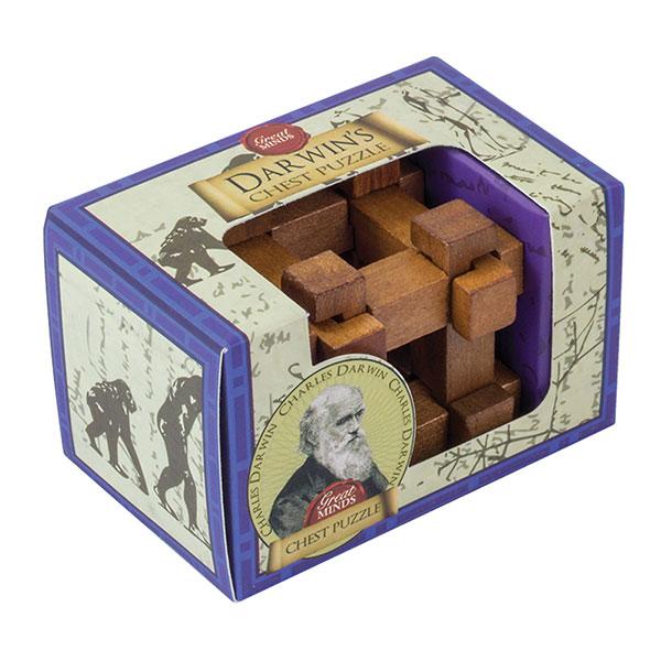 Professor Puzzle Darwin's Chest Mini Puzzle