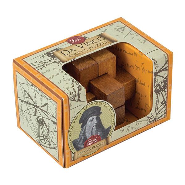 Professor Puzzle Da Vinci's Cross Mini Puzzle
