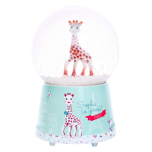 Trousselier Χιονόμπαλα Sophie The Giraffe© με μουσική