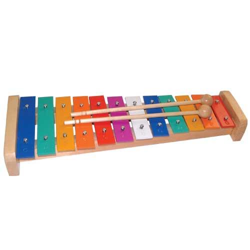 Μεταλλόφωνο χρωματιστό 12 νότες