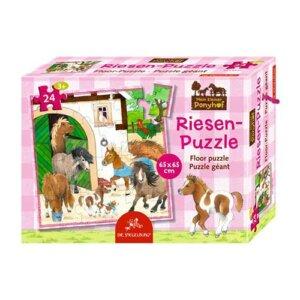 """Παζλ Δαπέδου """"Our Pony Farm"""" (24 τμχ), spiegelburg, spiegelburg 14314, our pony farm, παζλ δαπέδου, pazl, παζλ, παιδικά παζλ, παζλ για παιδιά, pazl, puzzle, puzzles, παιχνίδια με παζλ, παζλ games, παζλ για κορίτσια, παζλ για παιδιά, παιδικά παιχνίδια, δώρα, δώρο, επιτραπέζια, παιχνίδια για κορίτσια, παιχνίδια για αγόρια"""
