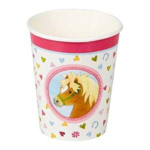 """Σετ χάρτινα ποτηράκια για πάρτυ """"Our Pony Farm"""" (8 τμχ), Ποτήρια Party, χαρτινα ποτηρια, ποτηρια παιδικα, χαρτινα ποτηρια παρτυ, παιδικο παρτυ, παιδικο παρτυ στο σπιτι, παιδικο παρτι διακοσμηση, πάρτι, πάρτυ, παιδικό πάρτυ, παιδικό πάρτι, είδη πάρτυ, είδη πάρτι, parti, party, spiegelburg, spiegelburg 14113"""