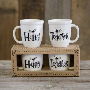 Σετ 2 κούπες Happy Together Natural Life, γυναικεια, koypes, γυναικειο, φλυτζανι καφε συμβολα, κεικ σε κουπα, καφε για διαβασμα, flitzani, σετ τσαγιου, φλυτζανι τσαγιου, κουπα καφε, φλυτζανια, φλυτζανι καφε, φλιτζάνι, κουπεσ, κουπεσ καφε, φλυτζανι, φλυτζανια τσαγιου, φλυτζανια καφε, koupes, φλιτζανια, δωρα, δωρο πασχα, πρωτοτυπο, δωρο χριστουγεννων, δωρα χριστουγεννων, δωρα γενεθλιων, χριστουγεννιατικα δωρα, πρωτοτυπα δωρα, δωρα για το σπιτι, τι δωρο να παρω στην κολλητη μου, χειροποιητα χριστουγεννιατικα δωρα, δωρα γενεθλιων για φιλη, το καλυτερο δωρο, ιδέεσ για δώρα γενεθλίων, natural life, natural life greece, MUGS056, graffiti, graffiti 36379