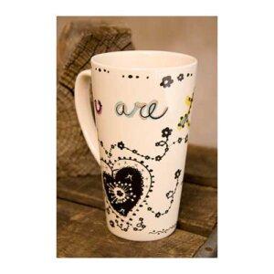 """Κεραμική Boho Κούπα Latte """"Loved"""" Natural Life, γυναικεια, koypes, γυναικειο, φλυτζανι καφε συμβολα, κεικ σε κουπα, καφε για διαβασμα, flitzani, σετ τσαγιου, φλυτζανι τσαγιου, κουπα καφε, φλυτζανια, φλυτζανι καφε, φλιτζάνι, κουπεσ, κουπεσ καφε, φλυτζανι, φλυτζανια τσαγιου, φλυτζανια καφε, koupes, φλιτζανια, δωρα, δωρο πασχα, πρωτοτυπο, δωρο χριστουγεννων, δωρα χριστουγεννων, δωρα γενεθλιων, χριστουγεννιατικα δωρα, πρωτοτυπα δωρα, δωρα για το σπιτι, τι δωρο να παρω στην κολλητη μου, χειροποιητα χριστουγεννιατικα δωρα, δωρα γενεθλιων για φιλη, το καλυτερο δωρο, ιδέεσ για δώρα γενεθλίων, natural life, natural life greece, MUG111, graffiti, graffiti 28158"""