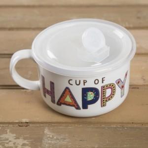"""Κούπα Σούπας """"Cup of Happy"""" Natural Life, γυναικεια, koypes, γυναικειο, φλυτζανι καφε συμβολα, κεικ σε κουπα, καφε για διαβασμα, flitzani, σετ τσαγιου, φλυτζανι τσαγιου, κουπα καφε, φλυτζανια, φλυτζανι καφε, φλιτζάνι, κουπεσ, κουπεσ καφε, φλυτζανι, φλυτζανια τσαγιου, φλυτζανια καφε, koupes, φλιτζανια, δωρα, δωρο πασχα, πρωτοτυπο, δωρο χριστουγεννων, δωρα χριστουγεννων, δωρα γενεθλιων, χριστουγεννιατικα δωρα, πρωτοτυπα δωρα, δωρα για το σπιτι, τι δωρο να παρω στην κολλητη μου, χειροποιητα χριστουγεννιατικα δωρα, δωρα γενεθλιων για φιλη, το καλυτερο δωρο, ιδέεσ για δώρα γενεθλίων, natural life, natural life greece, MUG279, graffiti, graffiti 50473"""