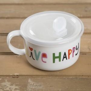 """Κούπα Σούπας """"Live Happy"""" Natural Life, γυναικεια, koypes, γυναικειο, φλυτζανι καφε συμβολα, κεικ σε κουπα, καφε για διαβασμα, flitzani, σετ τσαγιου, φλυτζανι τσαγιου, κουπα καφε, φλυτζανια, φλυτζανι καφε, φλιτζάνι, κουπεσ, κουπεσ καφε, φλυτζανι, φλυτζανια τσαγιου, φλυτζανια καφε, koupes, φλιτζανια, δωρα, δωρο πασχα, πρωτοτυπο, δωρο χριστουγεννων, δωρα χριστουγεννων, δωρα γενεθλιων, χριστουγεννιατικα δωρα, πρωτοτυπα δωρα, δωρα για το σπιτι, τι δωρο να παρω στην κολλητη μου, χειροποιητα χριστουγεννιατικα δωρα, δωρα γενεθλιων για φιλη, το καλυτερο δωρο, ιδέεσ για δώρα γενεθλίων, natural life, natural life greece, MUG278, graffiti, graffiti 50474"""