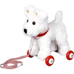 Τρεχαλίτσα σκυλάκι Τεριέ Carlos, 14402,σκυλακι, σκυλακι τεριε, σκυλακι ασπρο, σκυλακι λουτρινο, skulaki loutrino, spiegelburg skulaki, loutrino terier, loutrino aspro, funny animal parade