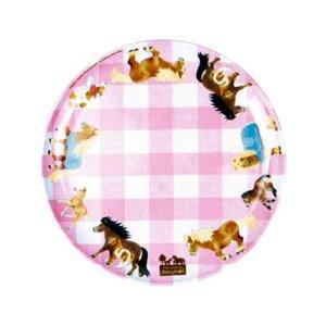 """Πιάτο """"Our Pony Farm"""", πιάτο, πιάτα, παιδικό πιάτο, παιδικά πιάτα, πιάτα για αγόρια, σετ φαγητού, spiegelburg, spiegelburg 13340"""