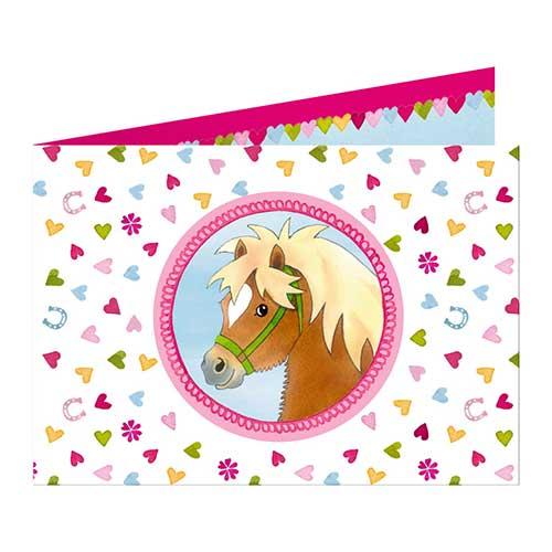 """Προσκλήσεις """"Our Pony Farm"""", προσκλήσεις για πάρτυ, προσκλήσεις πάρτι, πάρτι, πάρτυ, παιδικό πάρτυ, παιδικό πάρτι, πρόσκληση για πάρτυ, είδη πάρτυ, είδη πάρτι, προσκλήσεις για παιδικά πάρτυ, parti, party, spiegelburg, spiegelburg 14114"""