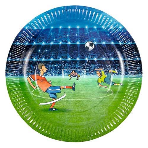Σετ χάρτινα πιατάκια για πάρτυ Ποδόσφαιρο (8 τμχ), Θεματικό παιδικό πάρτυ Ποδόσφαιρο, Ποδόσφαιρο Party, Είδη Party Ποδόσφαιρο, παιδικα παρτυ ποδοσφαιρο, παιδικο παρτυ με θεμα μπαλα, ειδη παρτυ με θεμα μπαλα, προσκλησεις γενεθλιων με θεμα ποδοσφαιρο, προσκλησεις παρτυ ποδοσφαιρο, προσκλησεις γενεθλιων ποδοσφαιρο, χαρτοπετσετες ποδοσφαιρο, τουρτα γενεθλιων ποδοσφαιρο, παιδικο παρτυ για αγορι, παιδικο παρτυ για αγορι διακοσμηση με θεμα το ποδοσφαιρο, διακοσμηση με θεμα το ποδοσφαιρο, Χαρτοπετσέτες φαγητού με θέμα την μπάλα, μπαλα, μπάλα, μπάλες, ποδόσφαιρο, ποδοσφαιρο, Σετ χάρτινα πιατάκια για πάρτυ, χάρτινα πιατάκια , είδη πάρτυ, είδη πάρτι, πιατάκια για πάρτυ, ποτήρια για πάρτυ, spiegelburg, spiegelburg 14117