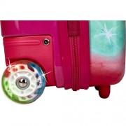 """Βαλίτσα Trolley με φωτάκια LED """"Unicorn Paradise"""""""