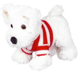 Λούτρινο Τεριέ Carlos, λουτρινο 14401, σκυλακι, σκυλακι τεριε, σκυλακι ασπρο, σκυλακι λουτρινο, skulaki loutrino, spiegelburg skulaki, loutrino terier, loutrino aspro, funny animal parade
