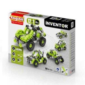 Engino INVENTOR 12 MODELS CARS, playmobil, plan toys, engino toys, engino robotics, toys cyprus, engino cyprus, engino παιχνιδια, παιχνιδια κατασκευων για κοριτσια, παιχνιδια κατασκευων για αγορια, ρομποτική, ρομποτική για παιδιά, έξυπνα παιχνίδια, εκπαιδευτικά παιχνίδια για παιδιά, εκπαιδευτικά, παιδαγωγικά, επιστημονικά παιχνίδια, paixnidia, pexndia, παιχνιδια, παιχνίδια, παιδικα παιχνιδια, παιχνίδια για κορίτσια, παιχνιδια για κοριτσια, παιχνιδια για αγορια, παιχνιδια για παιδια, engino, engino 1231