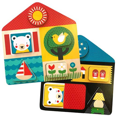 "Petit Collage Παζλ Διπλής Όψης ""Day + Night"", παιδικά παζλ, παζλ για παιδιά, pazl, puzzle, puzzles, παιχνίδια με παζλ, παζλ games, παζλ για κορίτσια, παζλ για παιδιά, παιδικά παιχνίδια, δώρα, δώρο, επιτραπέζια, παιχνίδια για κορίτσια, παιχνίδια για αγόρια, petit collage, παζλ petit collage, παιχνιδια petit collage, PTC-543452"