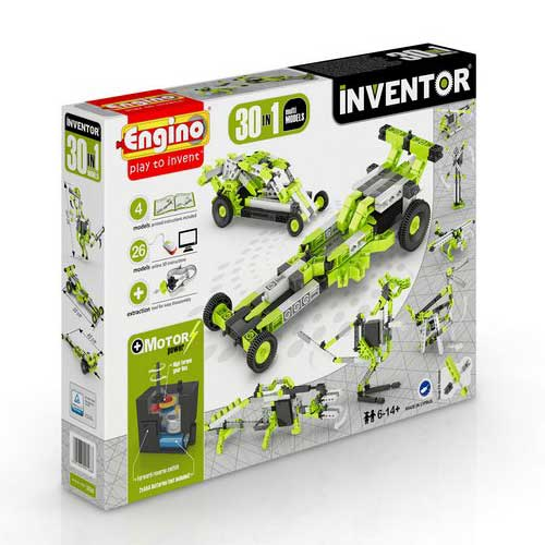 Engino INVENTOR 30 MODELS MOTORIZED SET