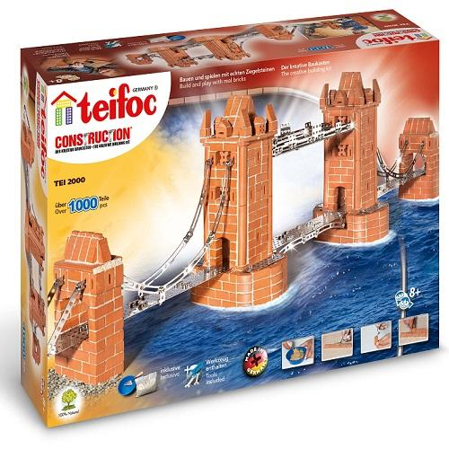 Teifoc Κεραμικά 'Χτίζω κρεμαστή γέφυρα', teifoc, σετ κατασκευής, κατασκευή, κατασκευές, κατασκευες, κατασκευεσ, κατασκευη, φτιαξτο, παιδικες κατασκευες, ειδη χομπυ, kataskeues, teifoc 2000