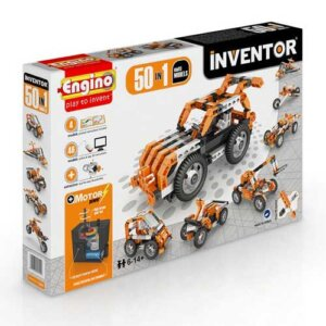 Engino INVENTOR 50 MODELS MOTORIZED SET, playmobil, plan toys, engino toys, engino robotics, toys cyprus, engino cyprus, engino παιχνιδια, παιχνιδια κατασκευων για κοριτσια, παιχνιδια κατασκευων για αγορια, ρομποτική, ρομποτική για παιδιά, έξυπνα παιχνίδια, εκπαιδευτικά παιχνίδια για παιδιά, εκπαιδευτικά, παιδαγωγικά, επιστημονικά παιχνίδια, paixnidia, pexndia, παιχνιδια, παιχνίδια, παιδικα παιχνιδια, παιχνίδια για κορίτσια, παιχνιδια για κοριτσια, παιχνιδια για αγορια, παιχνιδια για παιδια, engino, engino 5030