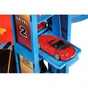 Bburago Auto Garage Playset Street Fire με Αυτοκινητάκι