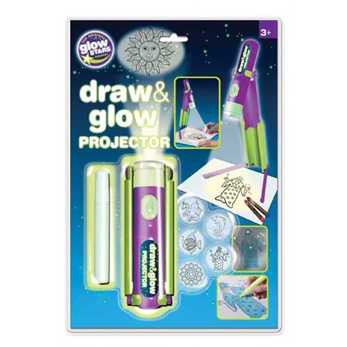 "Brainstorm Προτζέκτορας Ζωγραφικής ""Draw and Glow"""