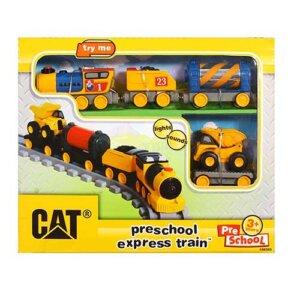 CAT Τρένο Preschool Express με Φώτα και Ήχους, CAT, παιχνιδια εκσκαφεας, παιχνιδια με εκσκαφεις, μεγαλα φορτηγα παιχνιδια, παιχνιδια φορτηγα μεταφορες, φορτηγα παιχνιδια για παιδια, μπουλντόζες για παιδια,μπουλντόζες παιδικες, μπουλντόζες παιχνιδια,παιχνιδια με μπουλντοζες που σκαβουν, παιχνιδια με μπουλντοζες που φορτώνουν, παιχνιδια με φορτωτες, παιχνιδια με κλαρκ και φορτηγα, αυτοκινητάκια CAT, αυτοκίνητα CAT, autokinita CAT, εργοταξιακα οχηματα CAT, μπουλντοζες, παιδικα φορτηγα, φορτηγα, αυτοκινητάκια, αυτοκίνητα, autokinitakia, αυτοκίνητα, pexnidia aftokinitakia, CAT 80408