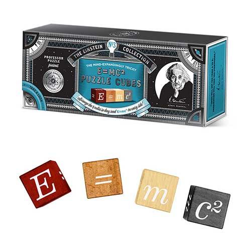 Professor Puzzle Einstein E=mc2 Puzzle Cubes