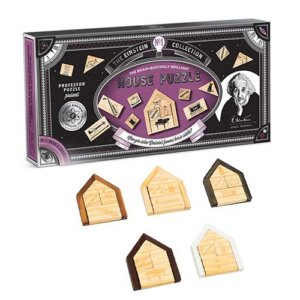 Professor Puzzle Einstein's House Riddle, Μαθηματική Βιβλιοθήκη, mathimatiki vivliothiki, γρίφος, γρίφοι, γρίφοι λογικής, κύβος του ρούμπικ, ρούμπικ, κύβος, το ξύλινο αλογάκι, παιχνίδια, παιχνιδια, παιχνιδια για κοριτσια, σπαζοκεφαλιές, δωρα, δώρα, δώρο, δωρο, επιτραπεζια, εποχιακα, EIN-2