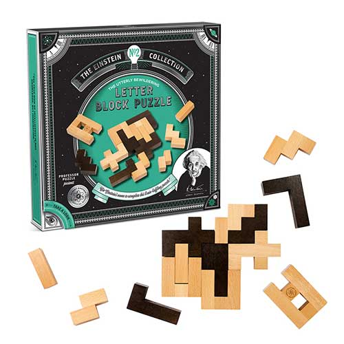 Professor Puzzle Einstein's Word Block