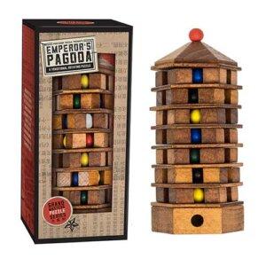 Professor Puzzle Grand Masters Emperor's Pagoda, Μαθηματική Βιβλιοθήκη, mathimatiki vivliothiki, γρίφος, γρίφοι, γρίφοι λογικής, κύβος του ρούμπικ, ρούμπικ, κύβος, το ξύλινο αλογάκι, παιχνίδια, παιχνιδια, παιχνιδια για κοριτσια, σπαζοκεφαλιές, δωρα, δώρα, δώρο, δωρο, επιτραπεζια, εποχιακα, GRM-7