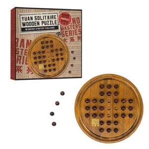 Professor Puzzle Grand Masters Yuan Solitaire, Μαθηματική Βιβλιοθήκη, mathimatiki vivliothiki, γρίφος, γρίφοι, γρίφοι λογικής, κύβος του ρούμπικ, ρούμπικ, κύβος, το ξύλινο αλογάκι, παιχνίδια, παιχνιδια, παιχνιδια για κοριτσια, σπαζοκεφαλιές, δωρα, δώρα, δώρο, δωρο, επιτραπεζια, εποχιακα, GRM-6