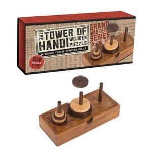 Professor Puzzle Grand Masters Tower of Hanoi, Μαθηματική Βιβλιοθήκη, mathimatiki vivliothiki, γρίφος, γρίφοι, γρίφοι λογικής, κύβος του ρούμπικ, ρούμπικ, κύβος, το ξύλινο αλογάκι, παιχνίδια, παιχνιδια, παιχνιδια για κοριτσια, σπαζοκεφαλιές, δωρα, δώρα, δώρο, δωρο, επιτραπεζια, εποχιακα, GRM-1