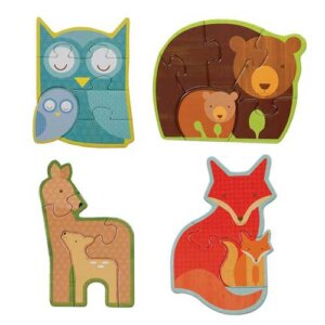 "Petit Collage Παζλ Διπλής Όψης ""Forest Babies"", παιδικά παζλ, παζλ για παιδιά, pazl, puzzle, puzzles, παιχνίδια με παζλ, παζλ games, παζλ για κορίτσια, παζλ για παιδιά, παιδικά παιχνίδια, δώρα, δώρο, επιτραπέζια, παιχνίδια για κορίτσια, παιχνίδια για αγόρια, petit collage, παζλ petit collage, παιχνιδια petit collage, PTC-767284"