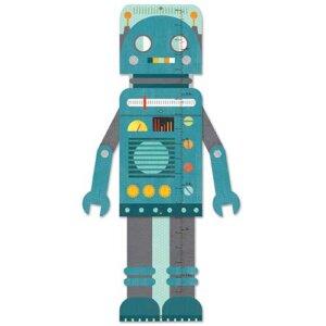 "Petit Collage Αναστημόμετρο ""Blue Robot"", αναστημόμετρο, αναστημόμετρα, djeco αναστημόμετρο, djeco αναστημόμετρα, παιδικό δωμάτιο, βρεφικά, αυτοκόλλητα, petit collage, petit collage παιχνιδια, PTC-447404"