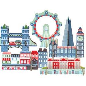 """Petit Collage Pop-out - Κατασκευή """"London"""", 3D παζλ, 3D puzzle, 3D pazl, παζλ, pazl, puzzle, 3D puzzle, 3D παζλ, παζλ, puzzles, παιδικά παιχνίδια, παιχνίδια, παιχνιδια, παιχνίδια για κορίτσια, παιχνίδια για αγόρια, επιτραπέζια, παιχνίδια με παζλ, δώρα, δώρο, petit collage, PTC-543391"""