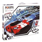 Polistil Αυτοκινητόδρομος High Speed Chase 1/43 Slot Car Cops and Robbers
