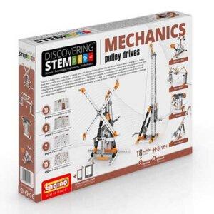 Engino STEM MECHANICS: Pulley drives, playmobil, plan toys, engino toys, engino robotics, toys cyprus, engino cyprus, engino παιχνιδια, παιχνιδια κατασκευων για κοριτσια, παιχνιδια κατασκευων για αγορια, ρομποτική, ρομποτική για παιδιά, έξυπνα παιχνίδια, εκπαιδευτικά παιχνίδια για παιδιά, εκπαιδευτικά, παιδαγωγικά, επιστημονικά παιχνίδια, paixnidia, pexndia, παιχνιδια, παιχνίδια, παιδικα παιχνιδια, παιχνίδια για κορίτσια, παιχνιδια για κοριτσια, παιχνιδια για αγορια, παιχνιδια για παιδια, engino, engino stem03