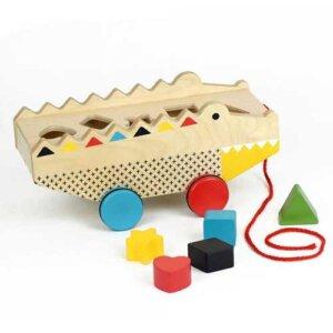 "Petit Collage Τρεχαλίτσα - Παιχνίδι Ταξινόμησης ""Rock + Roll Alligator"", τρεχαλίτσα, τρεχαλίτσες, παιχνιδια φροντιδα, παιχνιδια με μωρα φροντιδα, βρεφικα παιχνιδια, βρεφικα, παιδικα αξεσουαρ, pexnidia, παιχνιδια, βρεφικά, βρεφικα, παιχνίδι, paidika paixnidia, παιδικά παιχνίδια, παιχνίδια παιδικά, βρεφικά παιχνίδια, παιχνιδια ταξινομησης, petit collage, παζλ petit collage, παιχνιδια petit collage, PTC-543438"