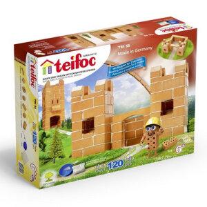 Teifoc Χτίζοντας 'Μικρό Κάστρο' (120 τμχ), teifoc, σετ κατασκευής, κατασκευή, κατασκευές, κατασκευες, κατασκευεσ, κατασκευη, φτιαξτο, παιδικες κατασκευες, ειδη χομπυ, kataskeues, teifoc 0055