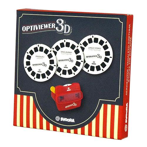 Svoora Κάρτες 3τεμ. για 3d Optiviewer