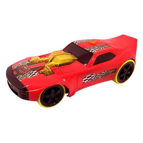 Hot Wheels Αυτοκίνητο Mega Muscle Nitro Doorslammer με Φως & Ήχο (33 cm)