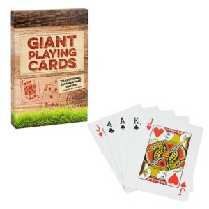 Professor Puzzle Τράπουλα Giant Playing Cards, τραπουλα, τραπουλες, τραπουλα παιχνιδια, τραπουλα αγορα, τραπουλα παιχνιδια, τραπουλα με μεγαλα νουμερα, μεγαλη τραπουλα, τραπουλα jumbo, τραπουλες jumbo, χαρτια, professor puzzle, παιχνιδια professor puzzle, professor puzzle GG-3