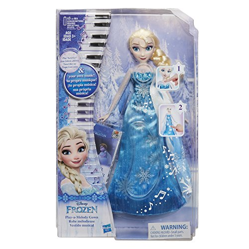 Hasbro Frozen Play a Melody Gown Elsa